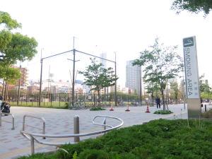 錦糸公園のグラウンド