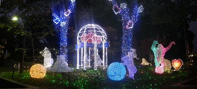 ueno zoo park illumination