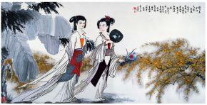 宗華が描く中国女性