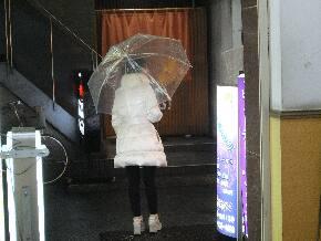 雨の日の美雪の入り口