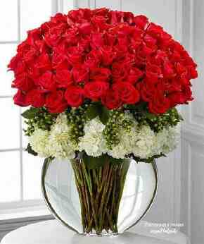バラの花束すごいやつ